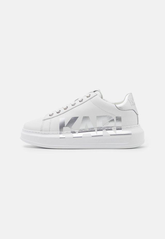 KAPRI LOGO - Sneaker low - white/silver