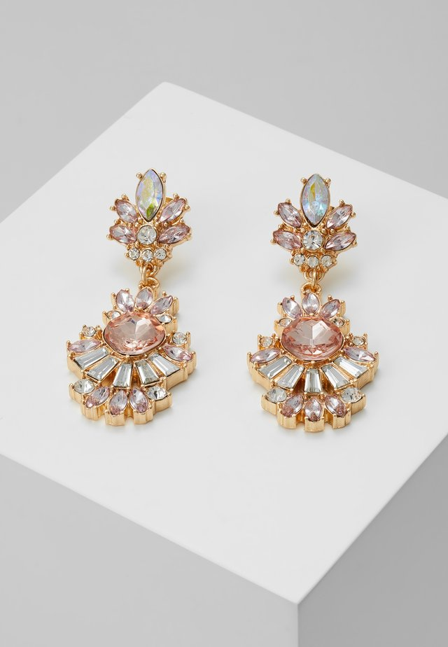 PCSUMMERA EARRINGS - Ohrringe - gold-coloured/champagne