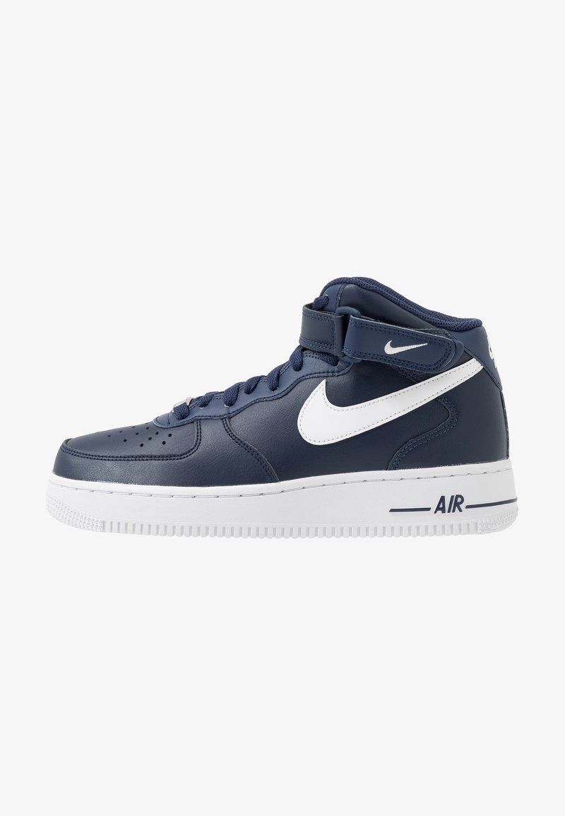 Nike Sportswear - AIR FORCE 1 MID '07 - High-top trainers - midnight navy/white