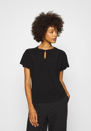 T-shirt con stampa - black