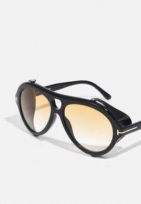 Tom Ford - UNISEX - Occhiali da sole - shiny black/smoke - 5