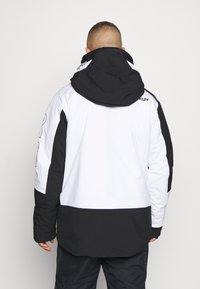 Oakley - Snowboard jacket - black/white - 2