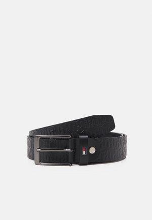 LAYTON MONOGRAM - Belt - black