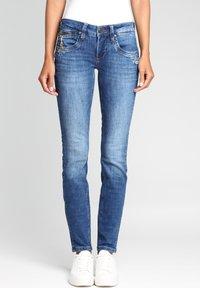 Gang - Jeans Skinny Fit - indigo basic - 0