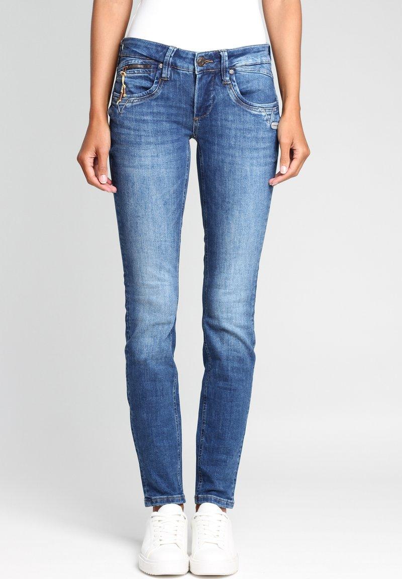Gang - Jeans Skinny Fit - indigo basic