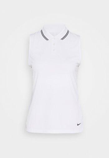 DRY VICTORY - Sports shirt - white/black/black
