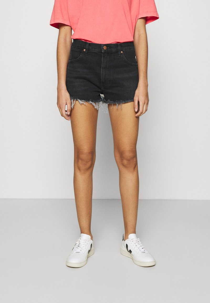 Wrangler - FESTIVAL  - Denim shorts - night fever