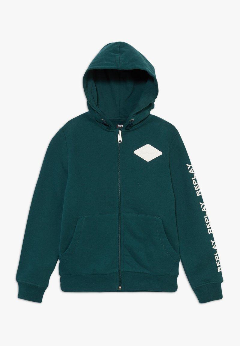 Replay - Zip-up hoodie - dark green