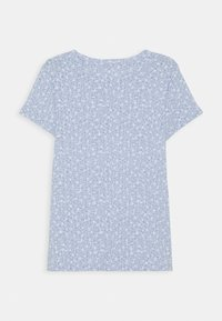 Abercrombie & Fitch - T-shirt print - blue ditsy - 1