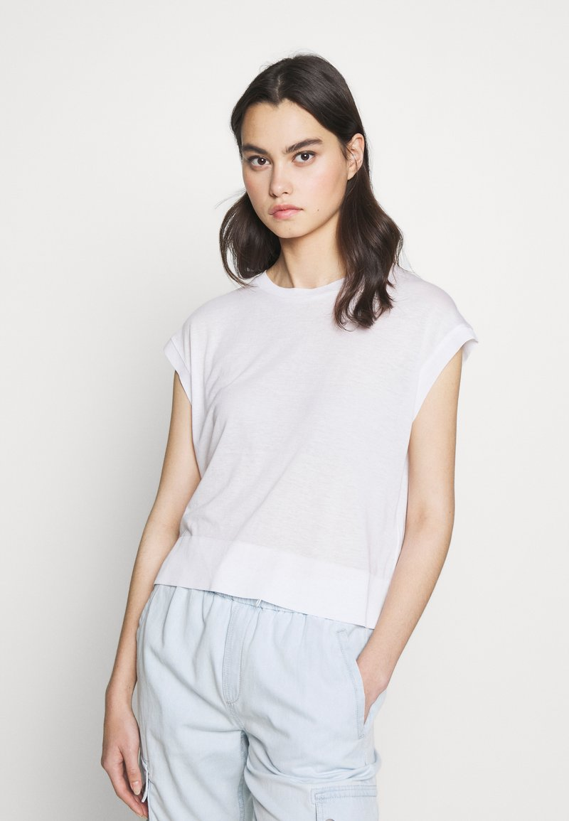 DRYKORN - LAKISHA - Basic T-shirt - weiss