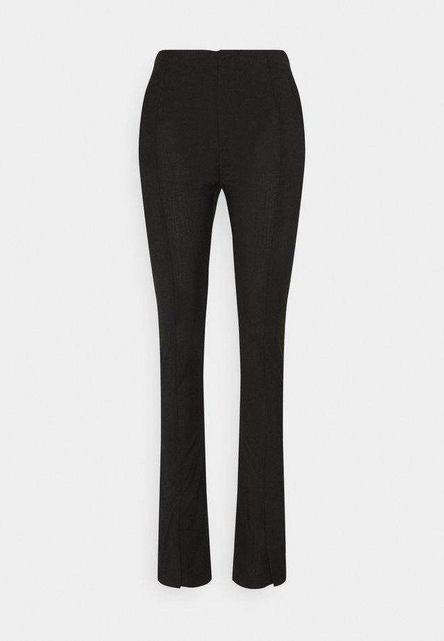 TROUSERS - Broek - black tailored