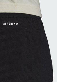 adidas Performance - T MATCH  - Pantalón corto de deporte - black - 4