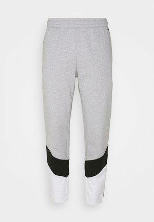 PANT TAPERED - Spodnji deli trenirk - gris chine/noir/blanc