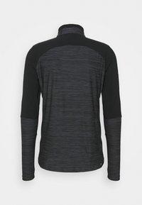 Umbro - PRO TRAINING ELITE ZIP - Long sleeved top - black/carbon - 1