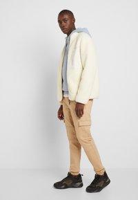 TOM TAILOR DENIM - Cargo trousers - smoked beige - 2