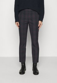 GAP - ANKLE - Trousers - tartan plaid - 0