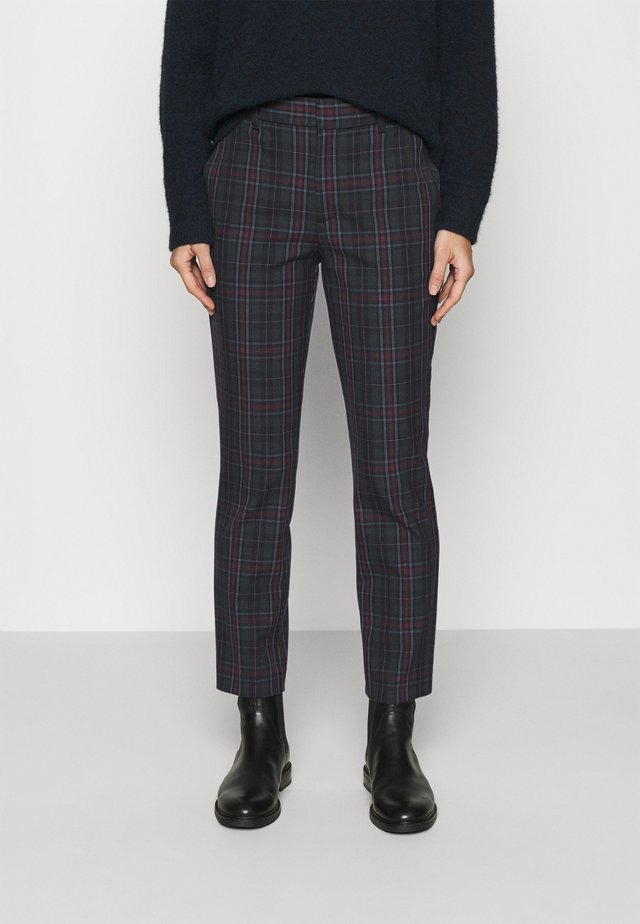ANKLE - Trousers - tartan plaid