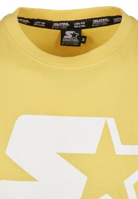 Starter - Print T-shirt - buff yellow - 7