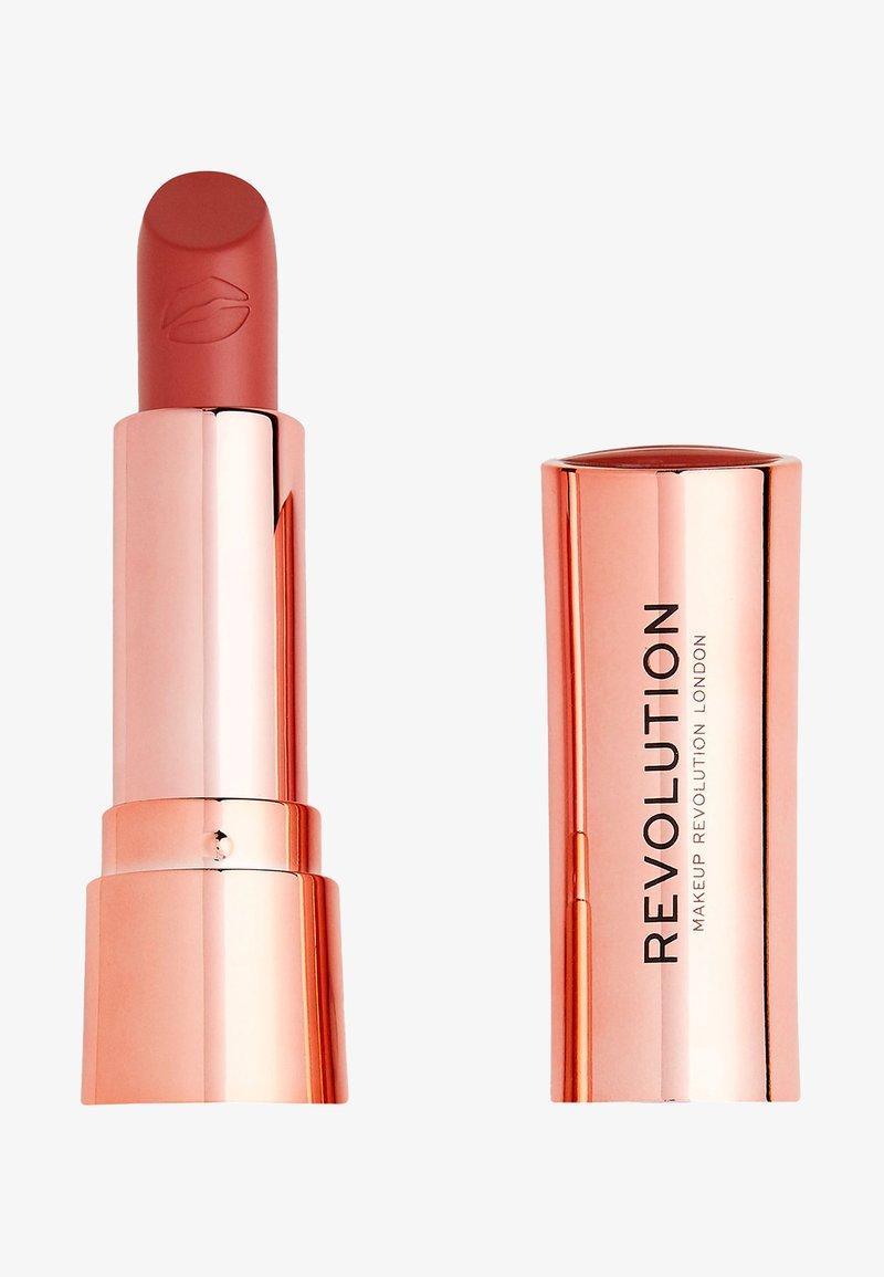 Make up Revolution - SATIN KISS LIPSTICK - Lipstick - white wedding