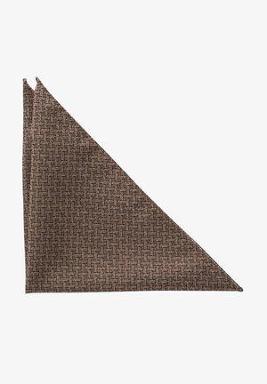 Pocket square - braun/dunkelblau