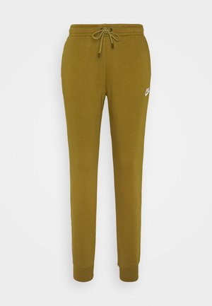 Tracksuit bottoms - olive flak/white