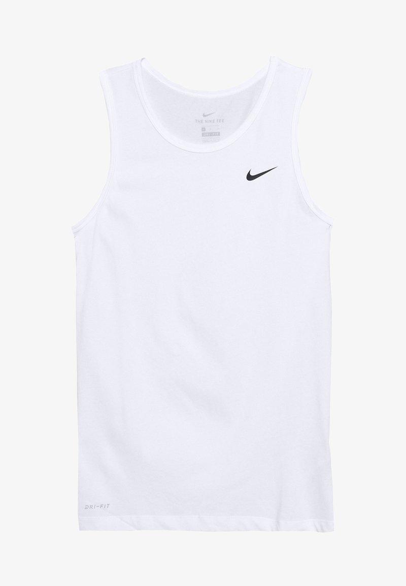 Nike Performance - DRY TANK SOLID - Camiseta de deporte - white/black