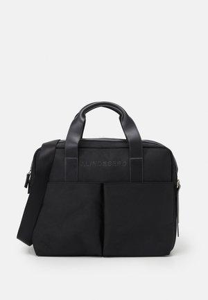 COMPUTER BAG UNISEX - Stresskoffert - black