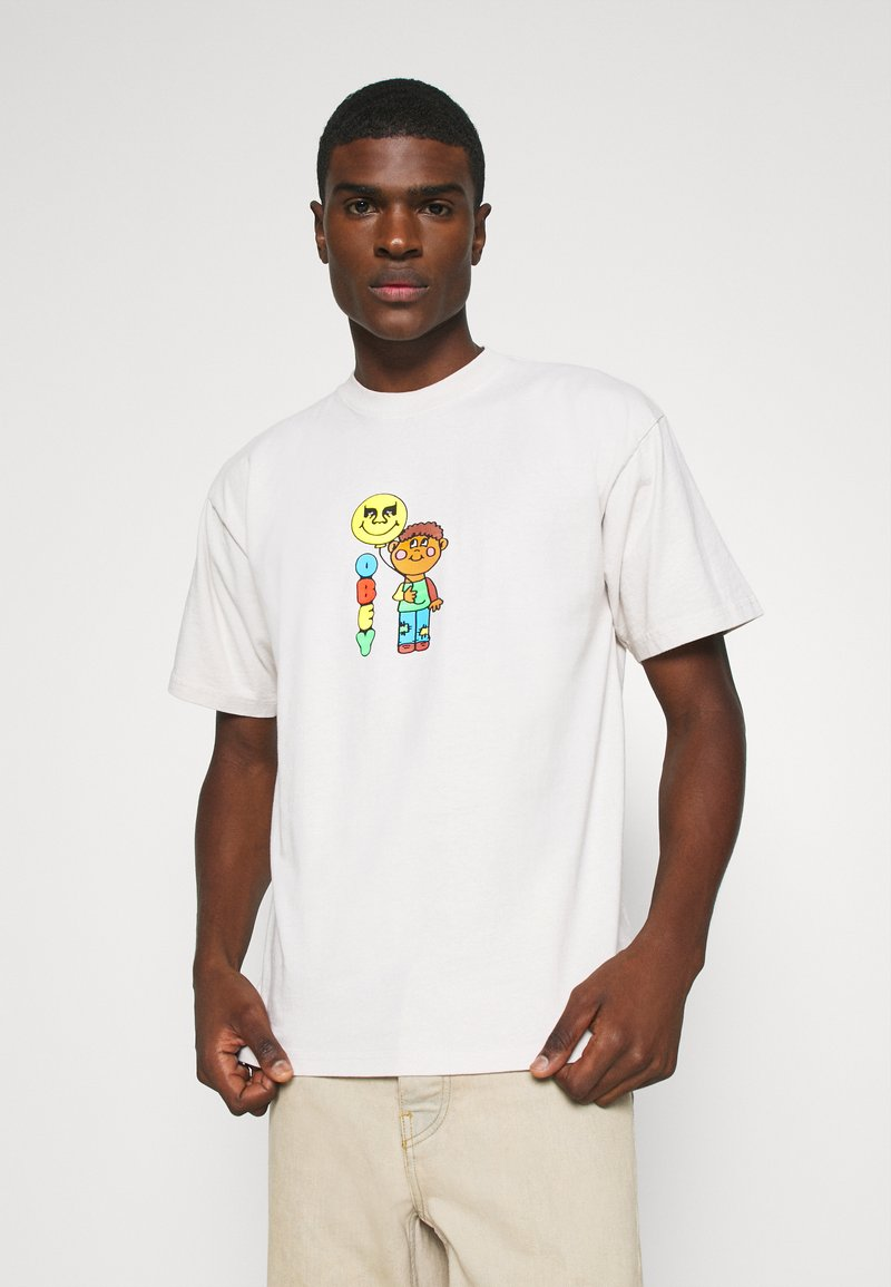 Obey Clothing - BALLOON - T-shirt con stampa - cream
