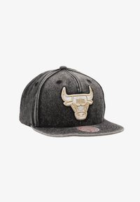 Mitchell & Ness - NBA CHICAGO BULLS SNOW WASHED NATURAL SNAPBACK - Caps - black - 1