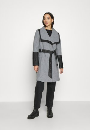 ONLELLY MIX COAT - Zimní kabát - light grey melange