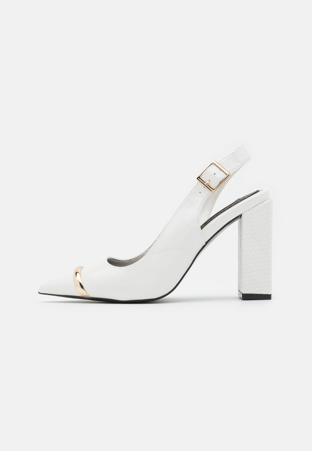 Escarpins - white