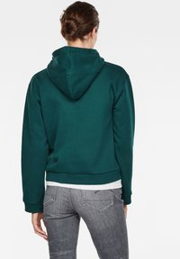 G-Star - GRAPHIC LYNAZ HOODED - Hoodie - green - 1