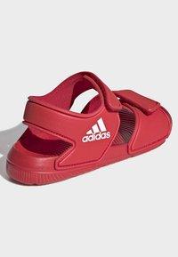 adidas Performance - ALTASWIM - Sandales de randonnée - red - 3