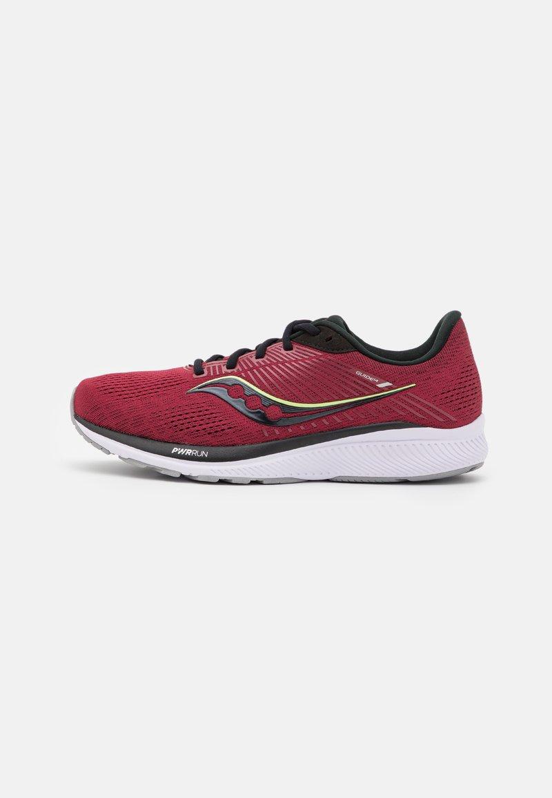 Saucony - GUIDE 14 - Stabilní běžecké boty - mulberry/lime