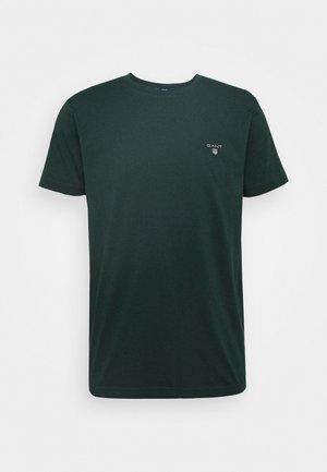 THE ORIGINAL - Basic T-shirt - tartan green