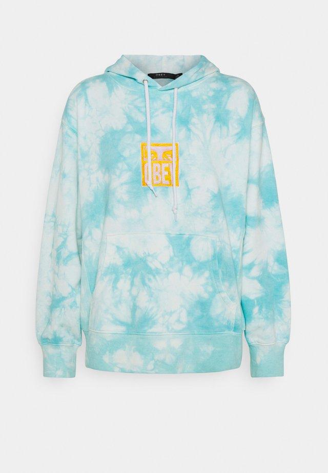 WARDEN HOOD - Sweatshirt - blue/multi