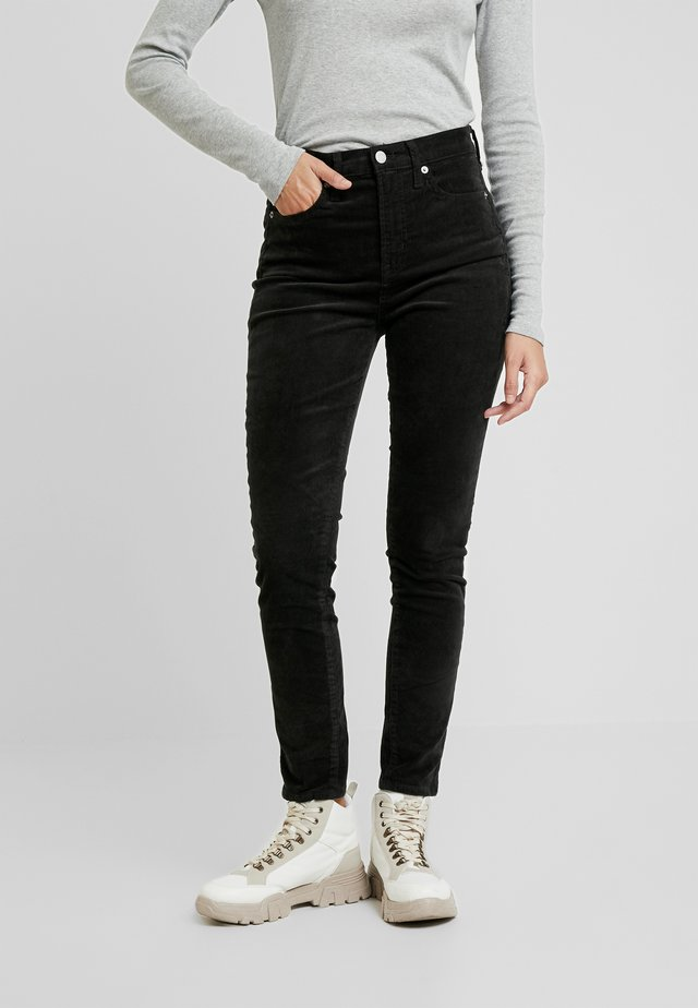 SKINNY - Trousers - rich olive