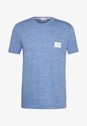 MOULINE CHEST LOGO - T-shirt z nadrukiem - blue