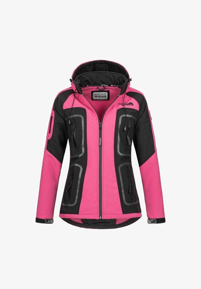 Soft shell jacket - rosa