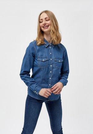 Košile - mid blue denim