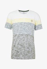 TOM TAILOR - INSIDE COLOUR BLOCK - Print T-shirt - olive night green - 3