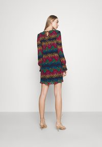 Never Fully Dressed - LEOPARD PLEATED MINI - Day dress - multi - 2