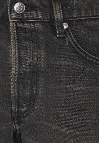 ARKET - Džíny Straight Fit - washed black - 5