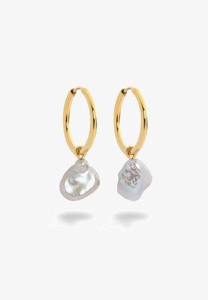 TREASURE PEARL - Earrings - gold