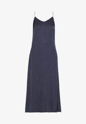 TENNA - Robe longue - navy