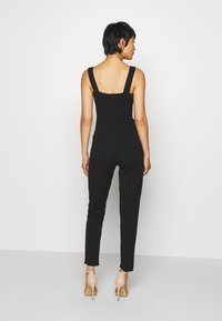 WAL G. - BOW DETAIL JUMSPUIT - Jumpsuit - black