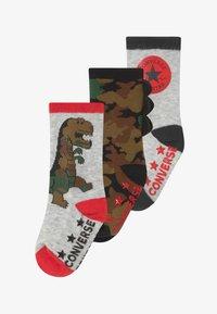 Converse - DINOS INFANT CREW 3 PACK - Socks - lunar rock - 3