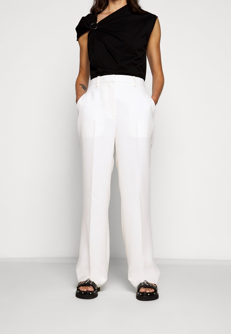 3.1 Phillip Lim - HEAVY CADY TROUSER - Pantalones chinos - off-white
