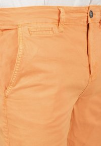 Solid - RON - Denim shorts - orange chi - 4