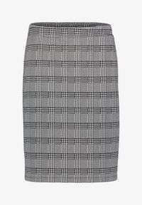 Betty Barclay - SCHMAL GESCHNITTEN - Pencil skirt - schwarz/weiß - 3